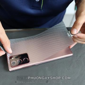 Dán mặt sau Galaxy Note 20 Ultra - dán dẻo trong hoặc nhám mờ